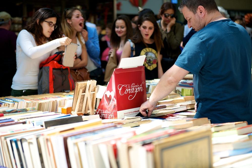Book Festival in Spain