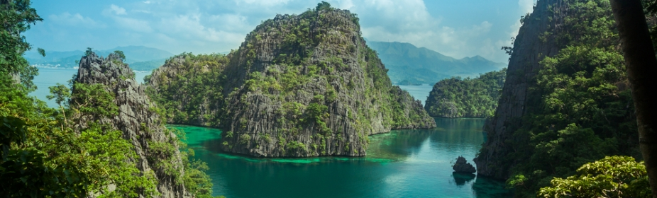 eautiful scenery of Coron, Palawan, Philippines