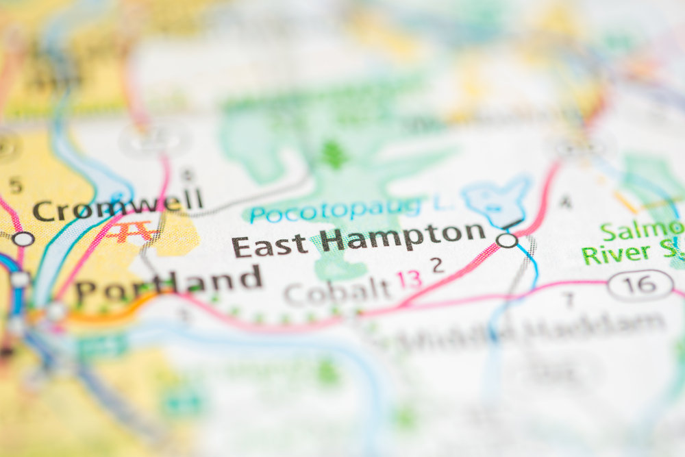 East Hampton Map