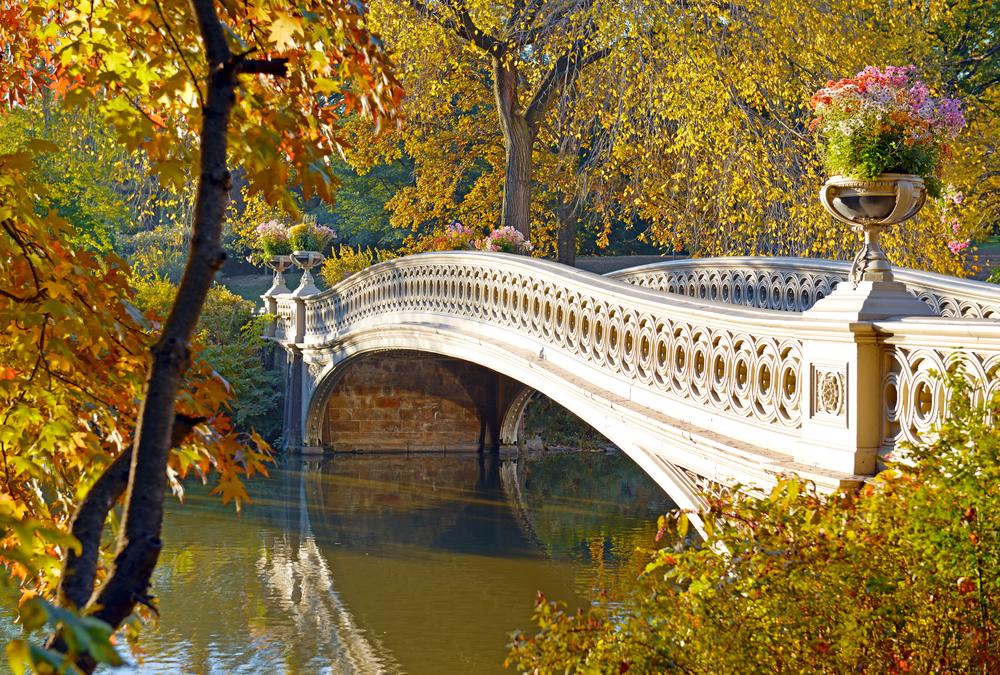 Bow Bridge in Fall