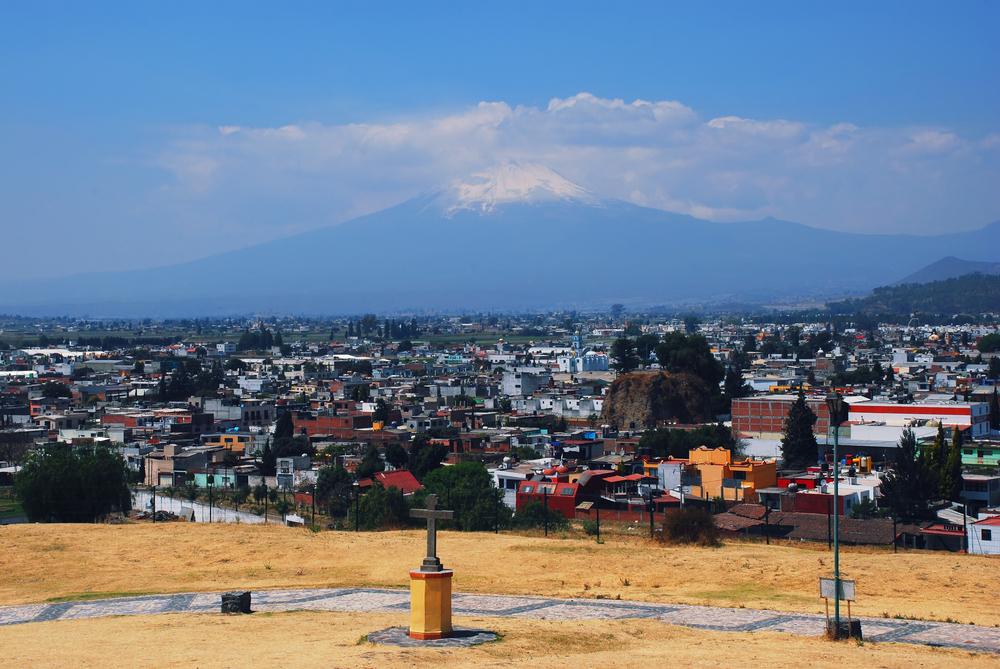 Puebla City monument