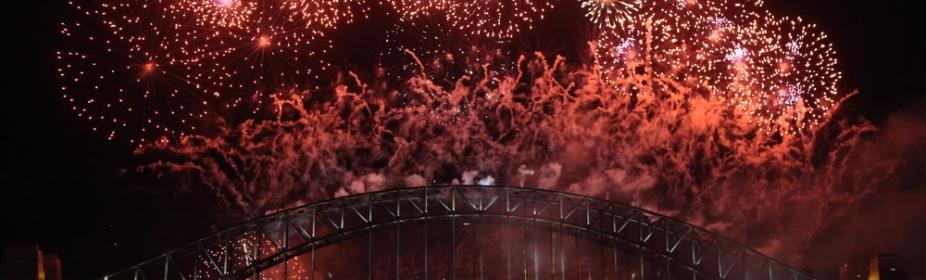 Fireworks in Sydney