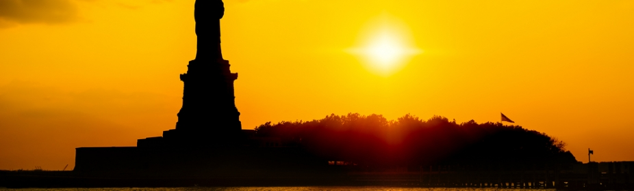 Statue of Liberty Sunset Sail