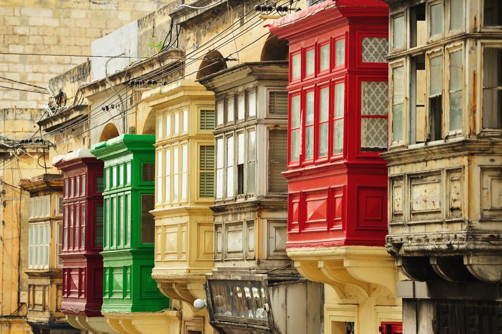 Malta's balconies