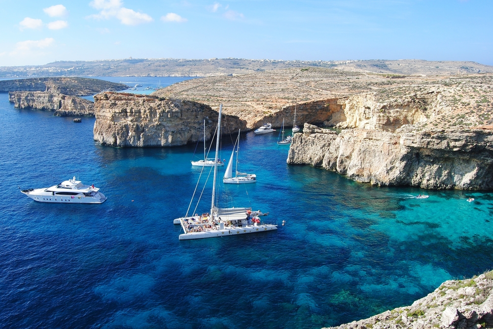 View of Comino