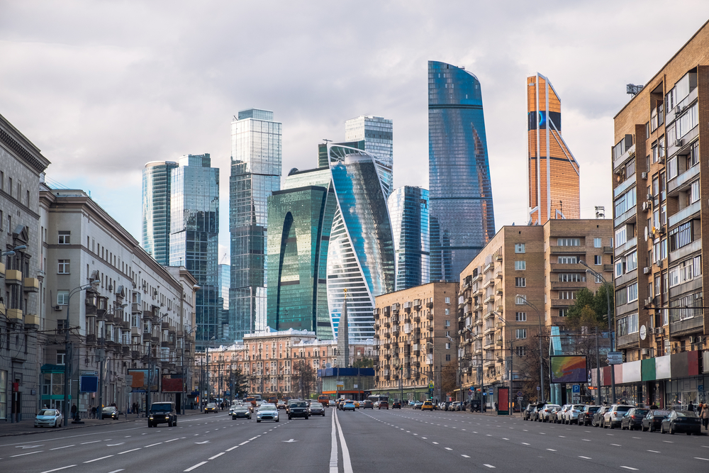 Moscow S Impressive Skyline Oro Gold Stores