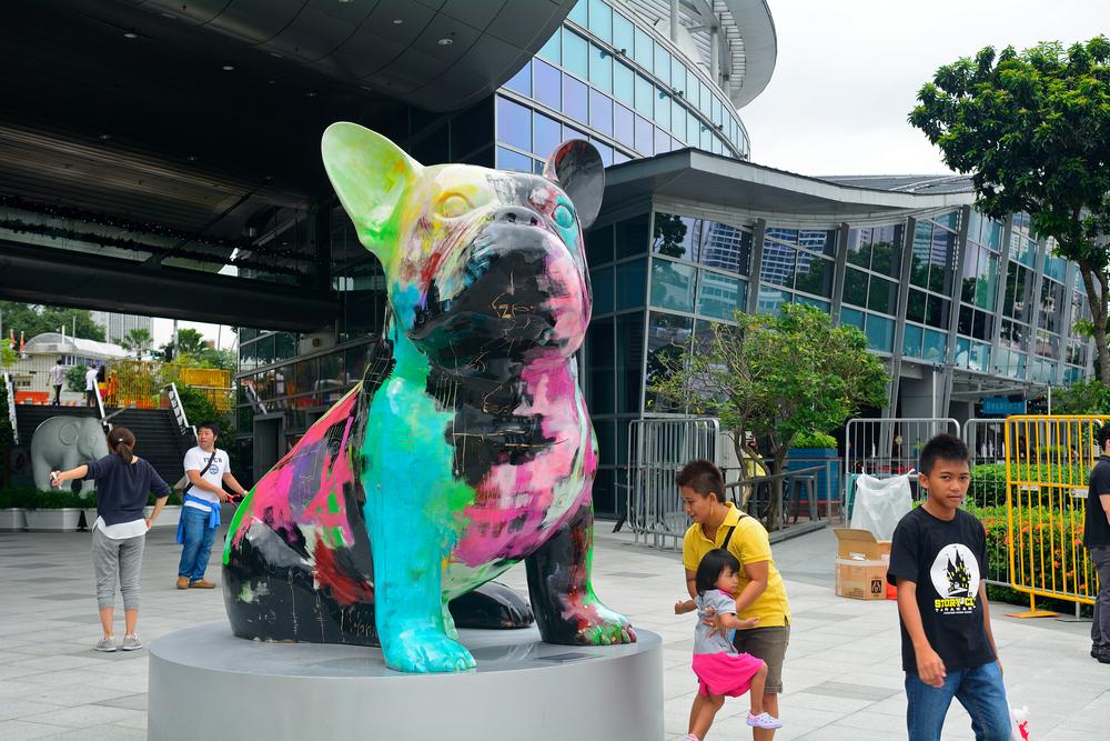 Art sculpture, Singapore