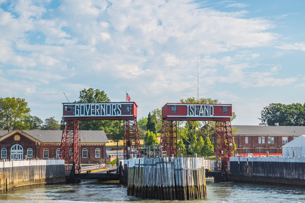 Ferry entrance of Governors Island