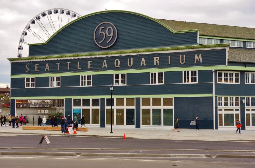 Exterior of Seattle Aquarium