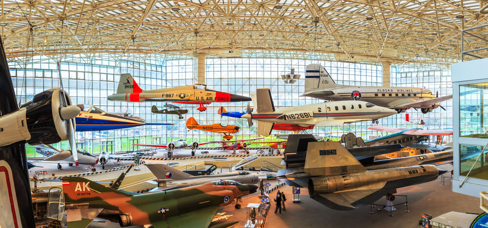 Museum of Flight in Seattle, USA