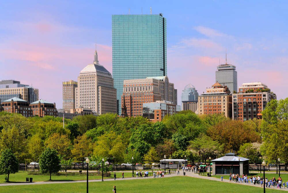 View of Boston