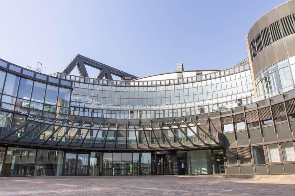 Landtag building in Dusseldorf, Germany
