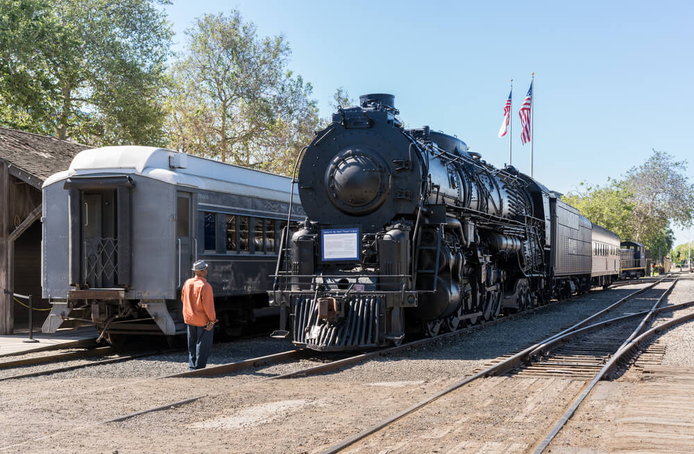 Locomotive at the California State Railroad Museum, Sacramento