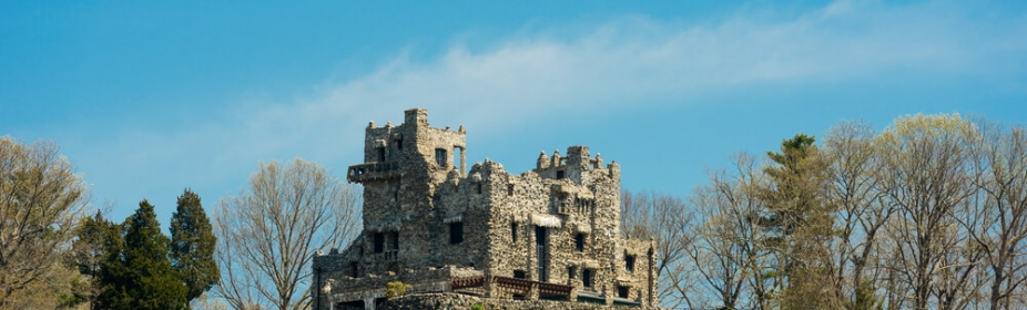 Gillette Castle State Park in Connecticut, USA