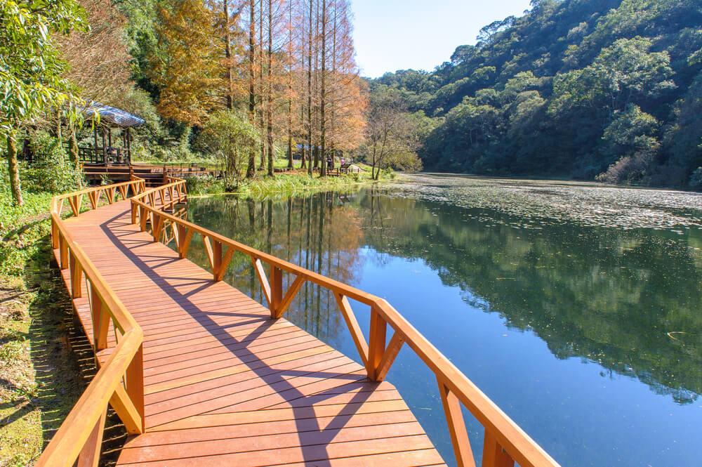 Fushan Botanical Garden in Taiwan