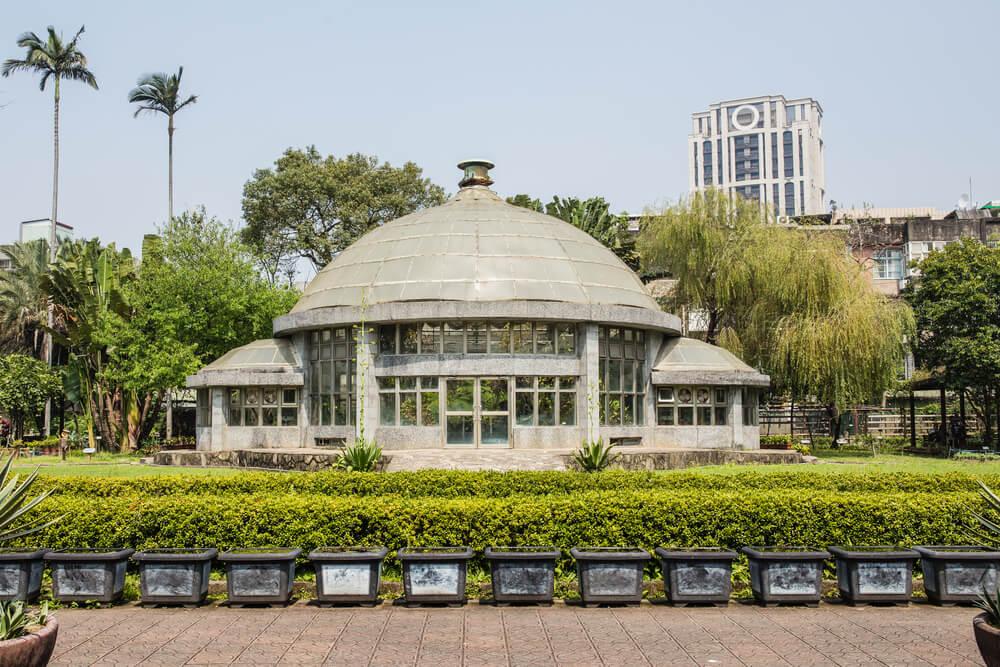 Taipei Botanical Garden in Taiwan