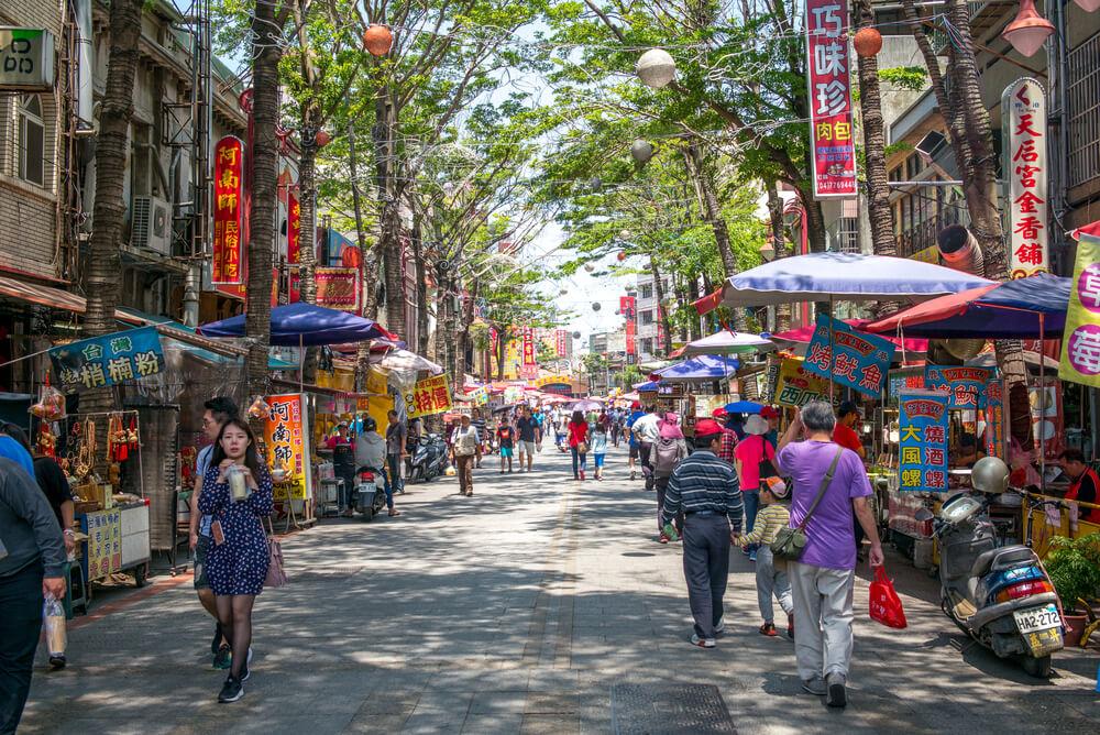 Street in Lukang, Taiwan