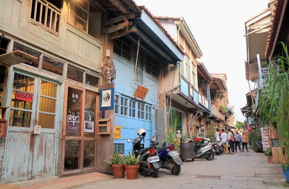 Shennong Street in Tainan, Taiwan