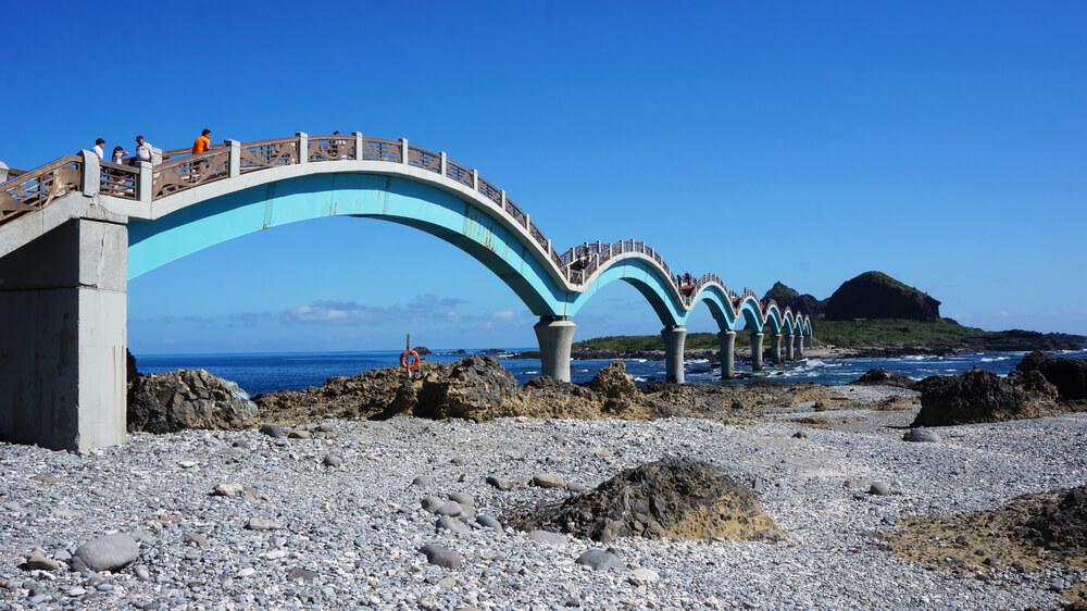 The famous bridge in Taitung, Taiwan