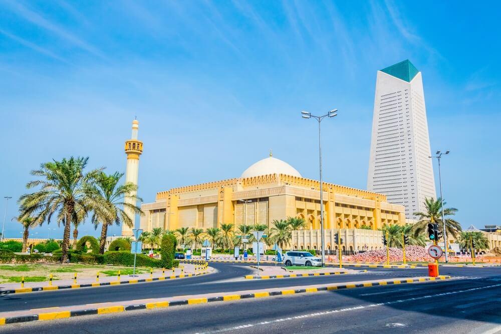 Grand mosque in Kuwait
