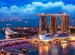 extensive view of Singapore