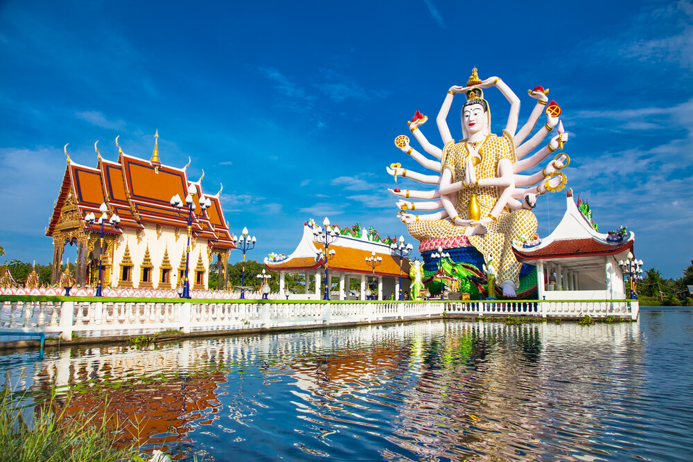 18-armed Guanyin temple in Koh Samui, Thailand