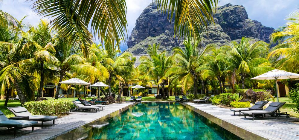 luxury resort in Mauritius