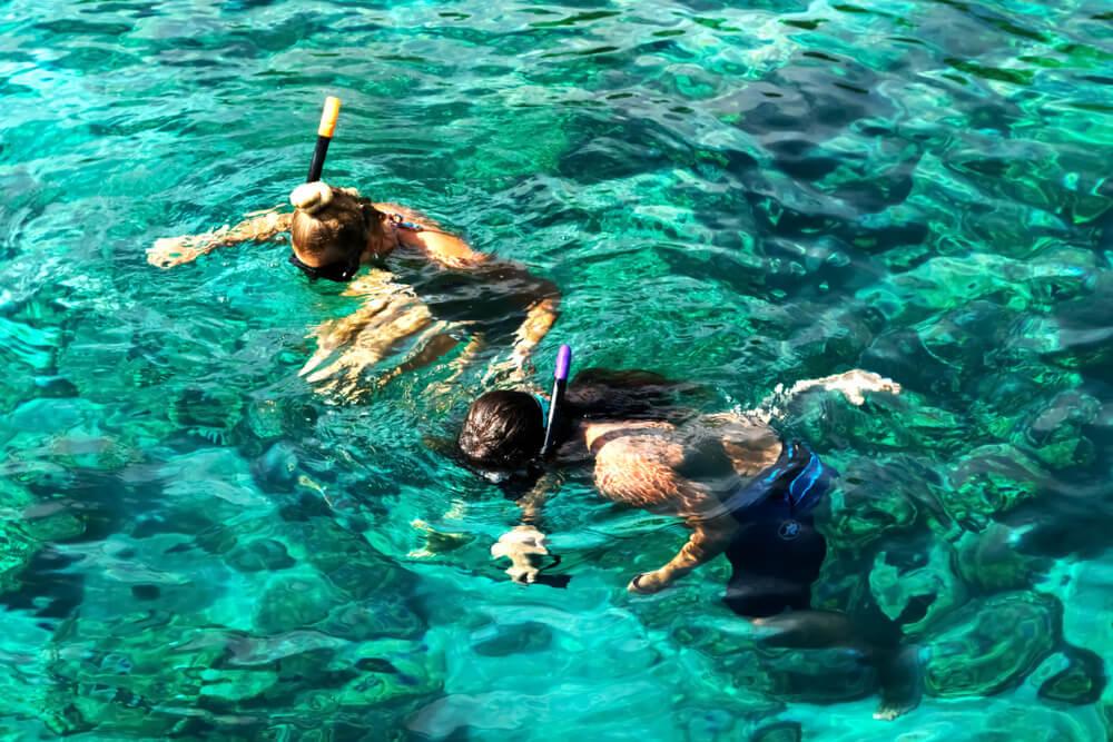 snorkeling in Quy Nho'n, Vietnam
