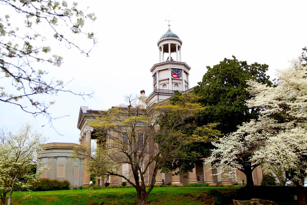 Auburn Antebellum House in Natchez, Mississippi