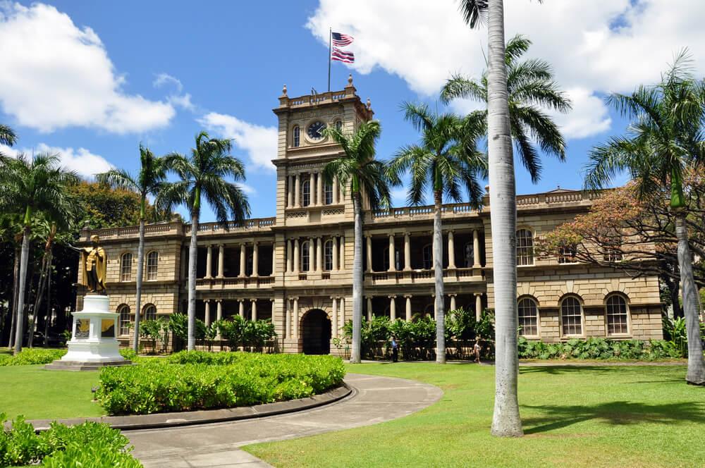 Iolani Palace in Honolulu Hawaii