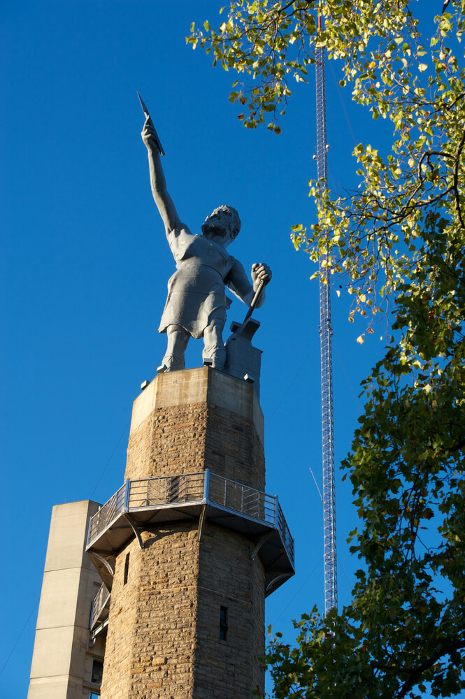 Vulcan statue in Birmingham, Alabama