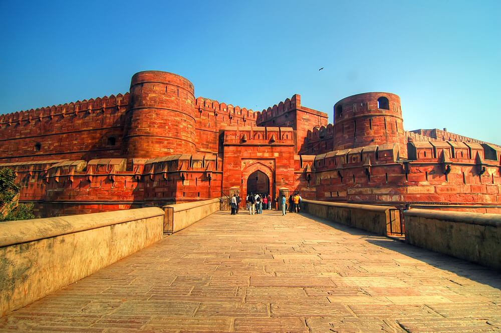 Amar Singh Gate of Agra Fort, Agra, Uttar Pradesh, India