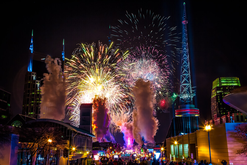 The Best U.S. Cities to Celebrate New Year's Eve
