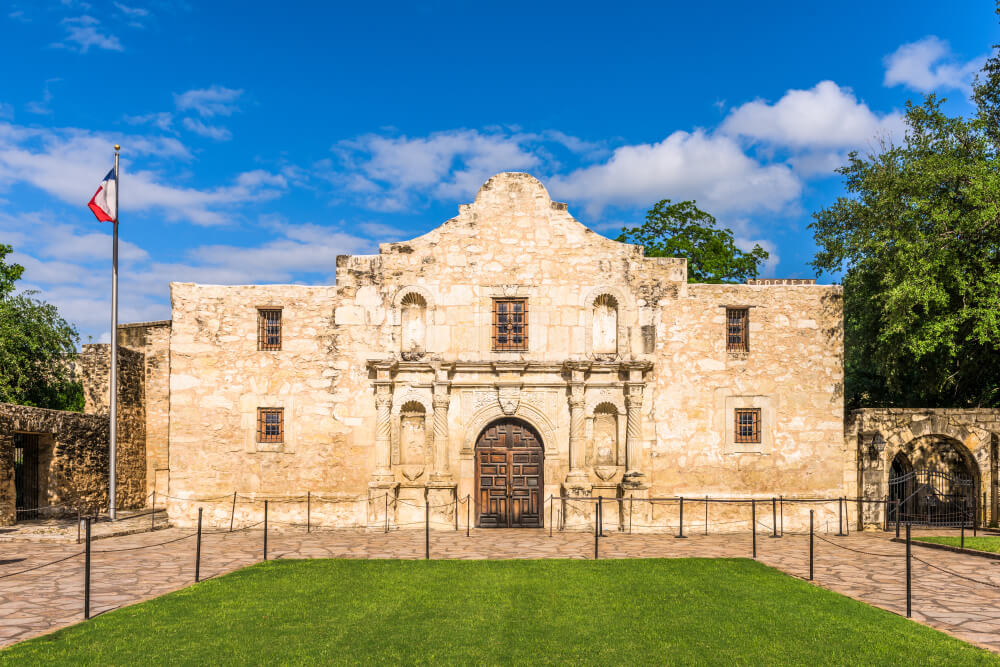 Aloma Mission in San Antonio, Texas