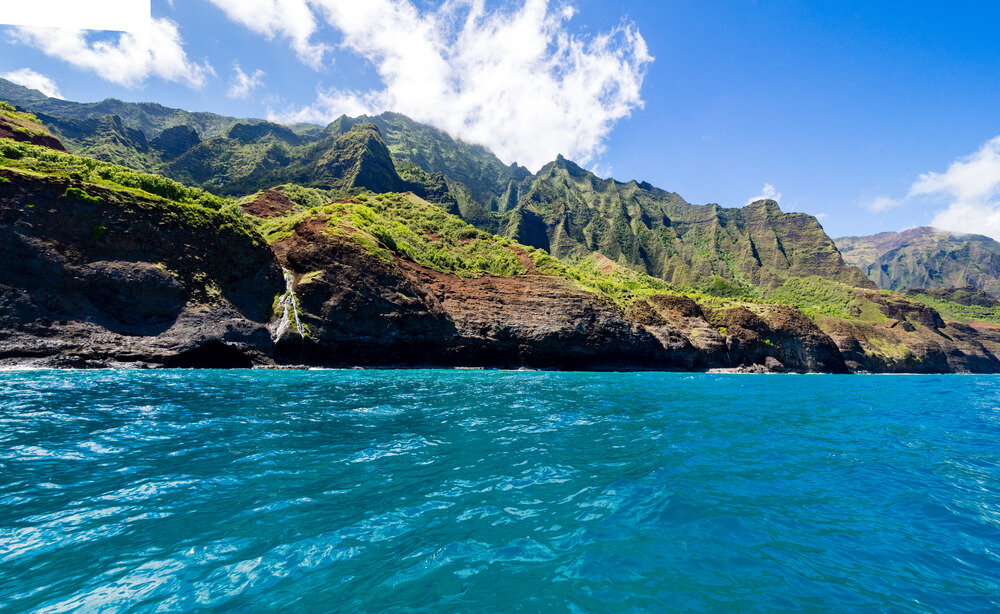 Hawaiian coast