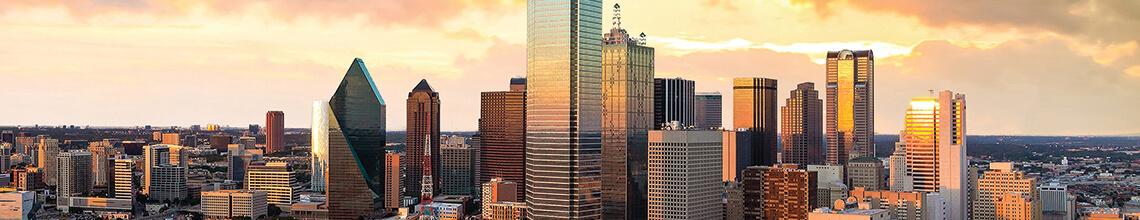 Texas skyline image
